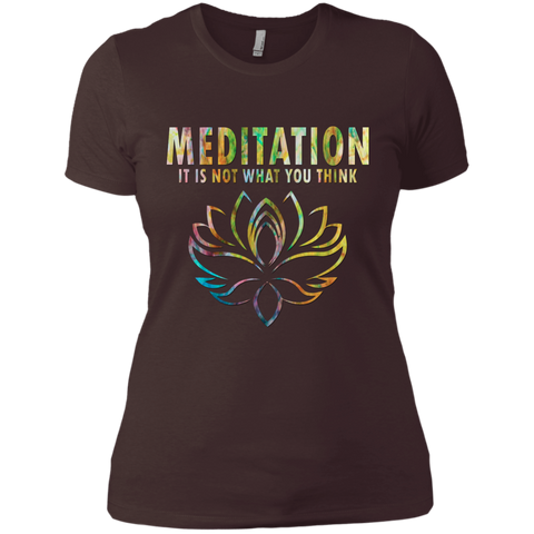 Meditation It's Not What You Think Shirts, Tank & Hoodie - Lyghtt