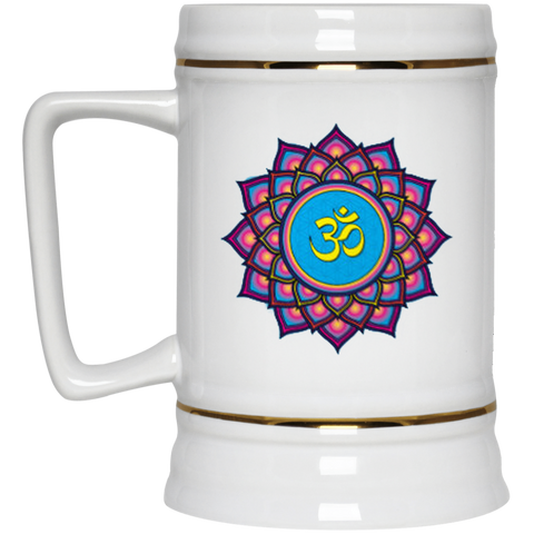 Om Lotus Flower Mugs & Drinkware - Lyghtt