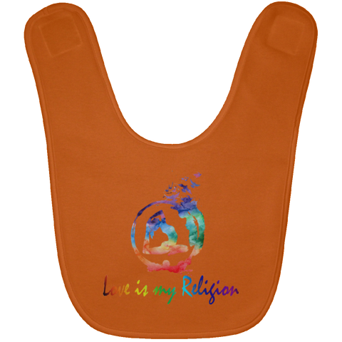 Love Is My Religion Girl Baby Bib & Onesie - Lyghtt