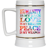 Image of Humanity Is My Race Drinkware - Lyghtt