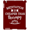 Image of Meditation Is Cheaper Than Therapy Phone & Ipad Cases - Lyghtt