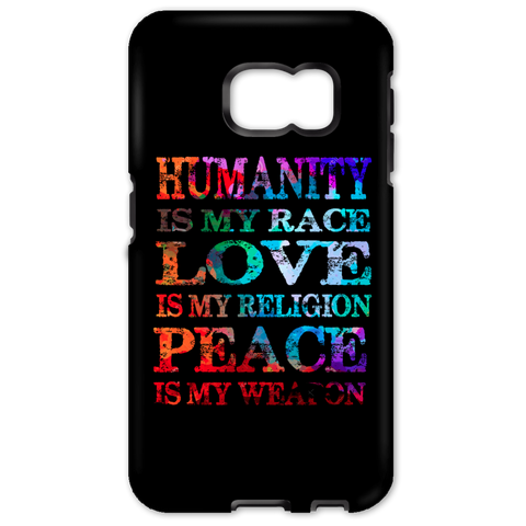 Humanity Is My Race Phone Cases - Lyghtt
