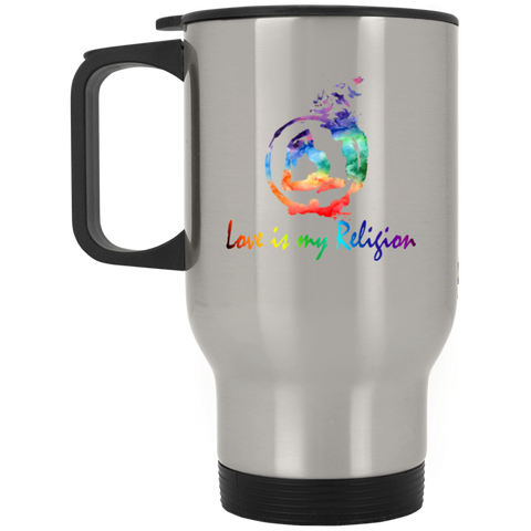 Love is My Religion Yoga Drinkware - Lyghtt