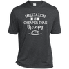Image of Meditation Is Cheaper Than Therapy Men Apparel - Lyghtt