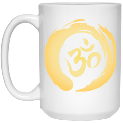 Gold Om Mugs & Drinkware