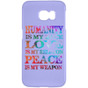 Image of Humanity Is My Race Phone Cases - Lyghtt