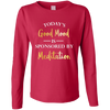 Image of Today's Good Mood is Sponsored By Meditation Women Apparel - Lyghtt