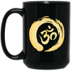 Image of Gold Om Mugs & Drinkware - Lyghtt