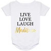 Image of Live Love Laugh & Meditate Babies Bib & Onesie - Lyghtt