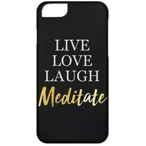 Live Love Laugh Meditate Phone & Ipad Cases - Lyghtt