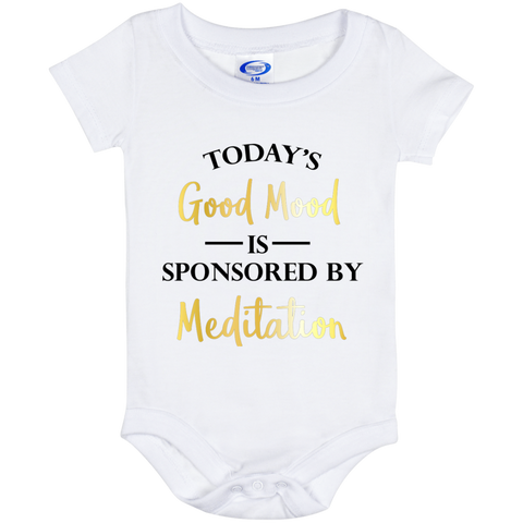 Today's Good Mood Is Sponsored By Meditation Baby Bib & Onesie - Lyghtt