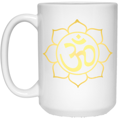 Gold Lotus Drinkware & Mugs