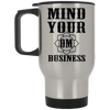Image of Mind Your Om Business Mugs & Drinkware - Lyghtt