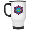 Image of Om Lotus Flower Mugs & Drinkware - Lyghtt