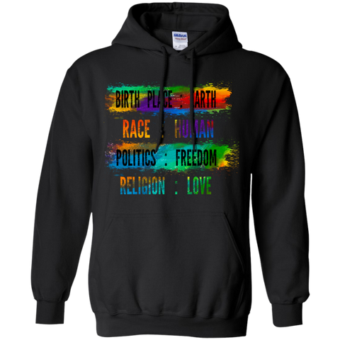 Earth is My Birthplace Shirts, Tank & Hoodie - Lyghtt