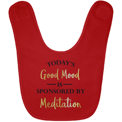 Today's Good Mood Is Sponsored By Meditation Baby Bib & Onesie