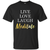 Image of Live Love Laugh & Meditate Men Apparel - Lyghtt