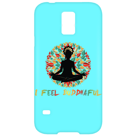 I Feel Buddhaful Girl Phone Case - Lyghtt