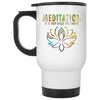 Image of Meditation It's Not What You Think Mugs & Drinkware - Lyghtt