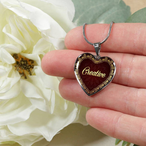 Creative Heart Style Charm Necklace - Lyghtt