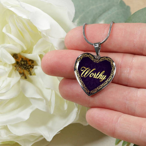 Worthy Heart Style Necklace