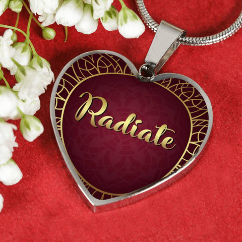 Radiate Heart Style Necklace - Lyghtt