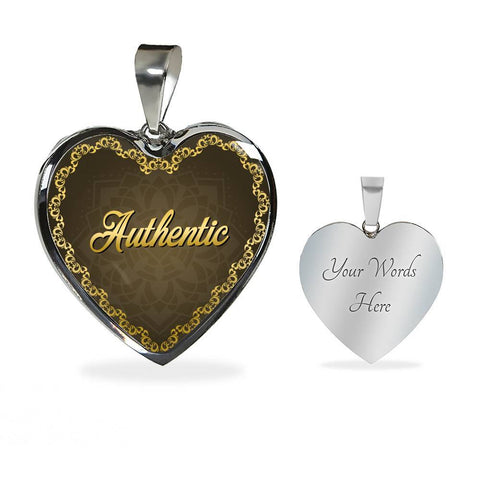 Authentic Heart Style Charm Necklace - Lyghtt