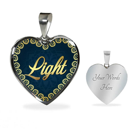 Light Heart Style Charm Necklace - Lyghtt
