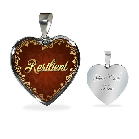 Resilient Heart Style Necklace - Lyghtt