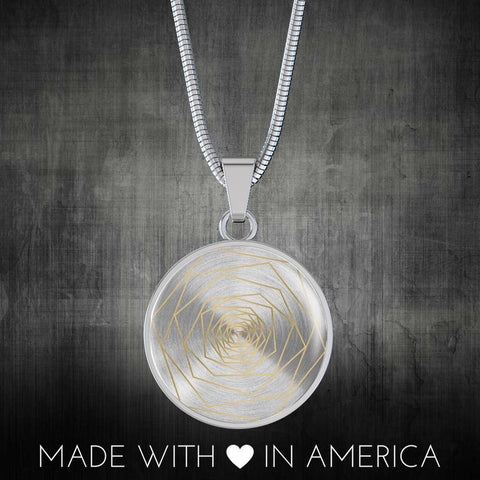 Freedom & Feminism Project Round Pendant Necklace - Lyghtt