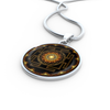 Image of Sacred Sri Yantra Pendant Necklace - Lyghtt