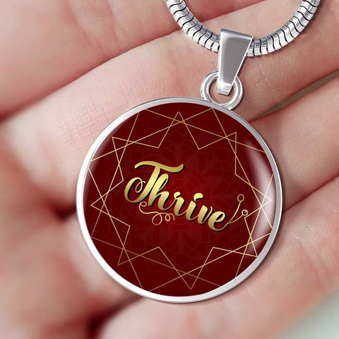 Thrive circle style charm necklace - Lyghtt