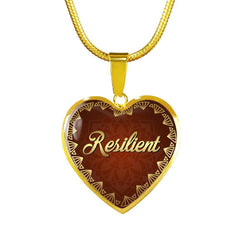 Resilient Heart Style Necklace