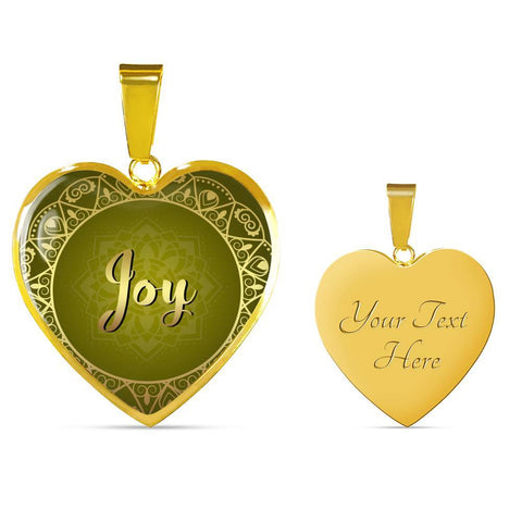Joy Heart Style Necklace - Lyghtt
