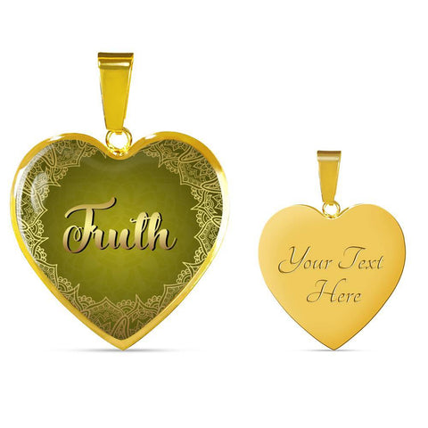 Truth Heart Style Gold and Silver Necklace - Lyghtt