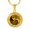 Image of Happiness Is An Inside Job Gold Tree of Life Pendant Charm Necklace - Lyghtt