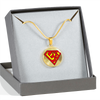 Image of Super Om Symbol Pendant Necklace - Lyghtt
