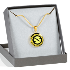 Golden Infinite Flower of Life, Omfinite Pendant Necklace with Engraved Personalization