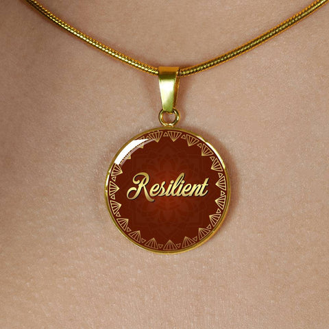Resilient Circle Style Necklace