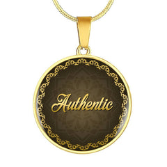 Authentic Circle Style Charm Necklace - Lyghtt