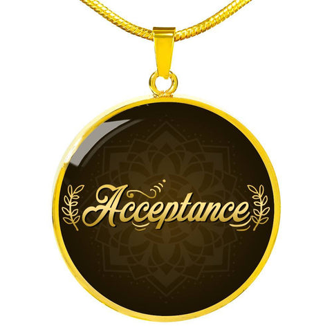 Acceptance Circle Style Necklace - Lyghtt