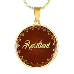 Resilient Circle Style Necklace - Lyghtt