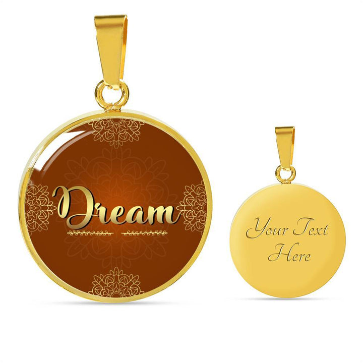 Dream Circle Style Necklace - Lyghtt