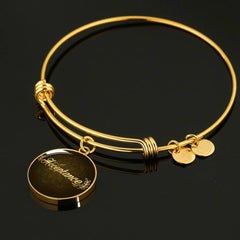 Acceptance Circle Style Bangle Bracelet - Lyghtt