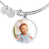 Image of Personalized Circle Style Photo Bangle - Lyghtt