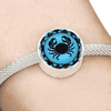 Image of Cancer Blue Zodiac Sign Charm Bracelet - Lyghtt