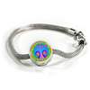 Image of All Things Grow with Love Pink Tree of Life Charm Bracelet - Lyghtt