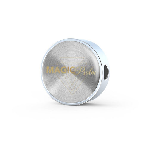 Magic of Psalm Logo Round Charm Bracelet