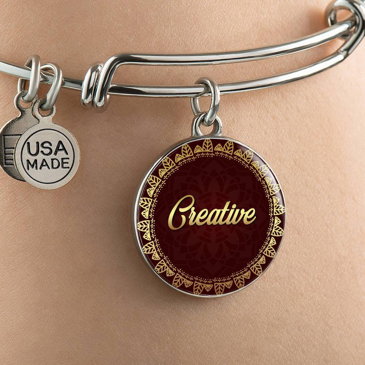 Creative Circle Style Bangle Bracelet - Lyghtt