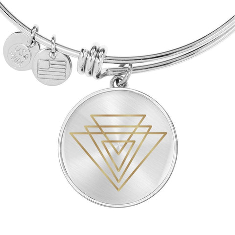 Magic of Psalm Symbol Bangle Bracelet